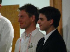 Solit und Chorleiter